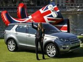 Supermodel Rosie Huntington-Whitely helps launch new Discovery Sport